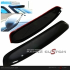 90-93 Acura Integra 2DR Coupe Rear Roof Window Visor Spoiler Wing (3M)