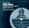 Vocal Record Collectors' Society - 1995 Issue         (VRCS 1995)