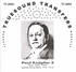 Paul Knupfer, Vol. III            (Truesound Transfers 3094)