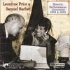 Leontyne Price & Samuel Barber   (Bridge 9156)