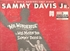 Mr. Wonderful  (Sammy Davis) (Decca DL 9032)   Original Broadway LP