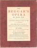 The Beggar's Opera   (Gay)   (Kronenberger & Groberman)