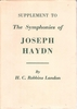 Joseph Haydn   -   Supplement     (H. C. Robbins Landon)