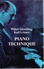 Piano Technique   (Walter Gieseking  &  Karl Leimer)   (0-486-22867-3)