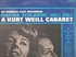 Kurt Weill Cabaret (M-G-M SE-4180 OC) Original Off-Broadway cast LP