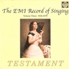 The Record of Singing, Vol. III          (10-Testament SBT 0132)