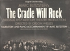 Cradle Will Rock  (American Legacy T 1001)  original Broadway cast LP