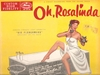 Oh, Rosalinda! (Fledermaus) (Mercury MG 20145) 1957 Soundtrack LP