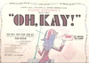 Oh Kay!       (20th FOX 4003)     1960 Off-Broadway Revival  cast LP