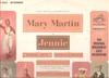 Jennie   (Mary Martin)    (RCA LSO-1083)    Original Broadway cast LP