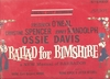 Ballad for Bimshire (London AMS 78002)  Original Off-Broadway cast LP