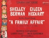 A Family Affair   (United Artists UAL 4099)   Original Broadway cast LP