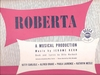 Roberta   (Alfred Drake)   (Decca DL 8007)   The 1949 studio recording