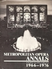 Metropolitan Opera Annals, 3rd  Supplement  (0-88371-022-6)