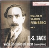 Samuil Feinberg    (Classical Records CR 088)