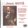 Jean Note, Vol.  I         (Malibran 601)