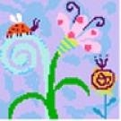 Little Ladybug Needlepoint Canvas