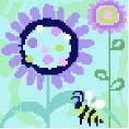 Busy Bee Needlepoint Canvas