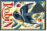 Robin Needlepoint Canvas