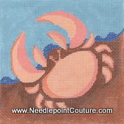 Crab Needlepoint Canvas