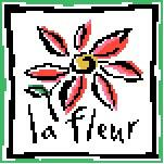 French Lesson Flower Needlepoint Canvas