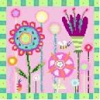 Spring Garden Needlepoint Canvas