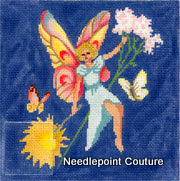 Tooth Fairy Pillow Needlepoint Canvas