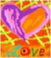 Crazy Love Needlepoint Canvas