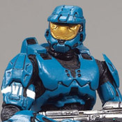 H3 DLX Armor Pack Spartan Soldier Mark VI (Teal)
