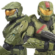 H3 DLX 2-Pack Master Chief<br>& Red Team Leader