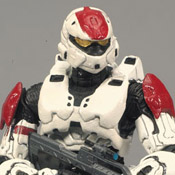 H3 DLX Armor Pack Spartan Soldier Rogue (White)