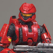 H3 DLX Armor Pack Spartan Soldier Scout (Red)