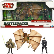 SW TLC Battle Packs<br>(2009 Packaging)