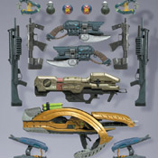 H3 S5 MOC Halo Wars Weapons Pack (Equipment Edition)