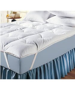Twin Size Feather Bed Protector