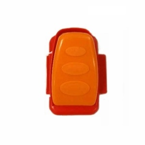Pedal Assembly, Orange Pedal & Red Base - 4 x 4