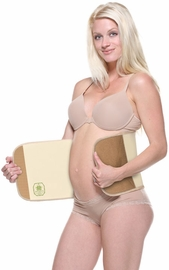 Belly Bandit Postpartum Belly Wrap, Bamboo Natural