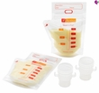 Ameda Store 'N Pour Milk Storage Bags 20 Count + Adapters
