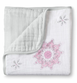 aden + anais Dream Blanket, For the Birds - Medallions