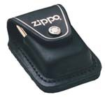 Zippo-lplbk-black-leather-lighter-pouch-loop