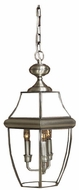 Quoizel NY1179P Newbury outdoor hanging lamp in pewter
