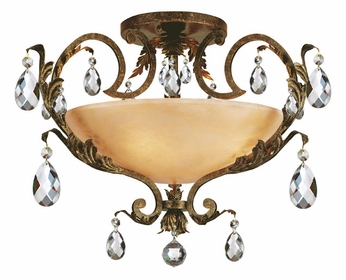 Fredrick Ramond 44109FRM Barcelona 4-light Traditional Ceiling Light