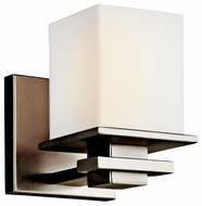 Kichler 45149AP Tully Contemporary Wall Sconce in Antique Pewter