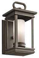 Kichler 49474RZ South Hope 11 Inch Tall Olde Bronze Small Outdoor Wall Lighting