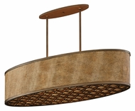 Corbett 135-56 Mambo Bronze 45 Inch Wide Modern Island Pendant Lighting