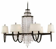 Corbett 130012 Viceroy Crystal Kitchen Island Light in Royal Bronze