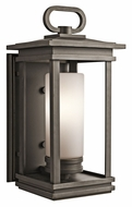 Kichler 49476RZ South Hope Larger 19 Inch Tall Transitional Olde Bronze Outdoor Wall Light