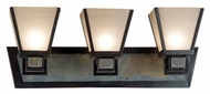 Kenroy Home 91603ORB Clean Slate 3-Lamp Mission Vanity Light