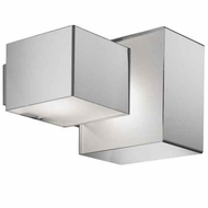 Zaneen D82074 Domino Inox Modern Style Wall Sconce