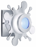 CSL SS1001-SA Splat Modern Flush Mount Ceiling and Wall Light